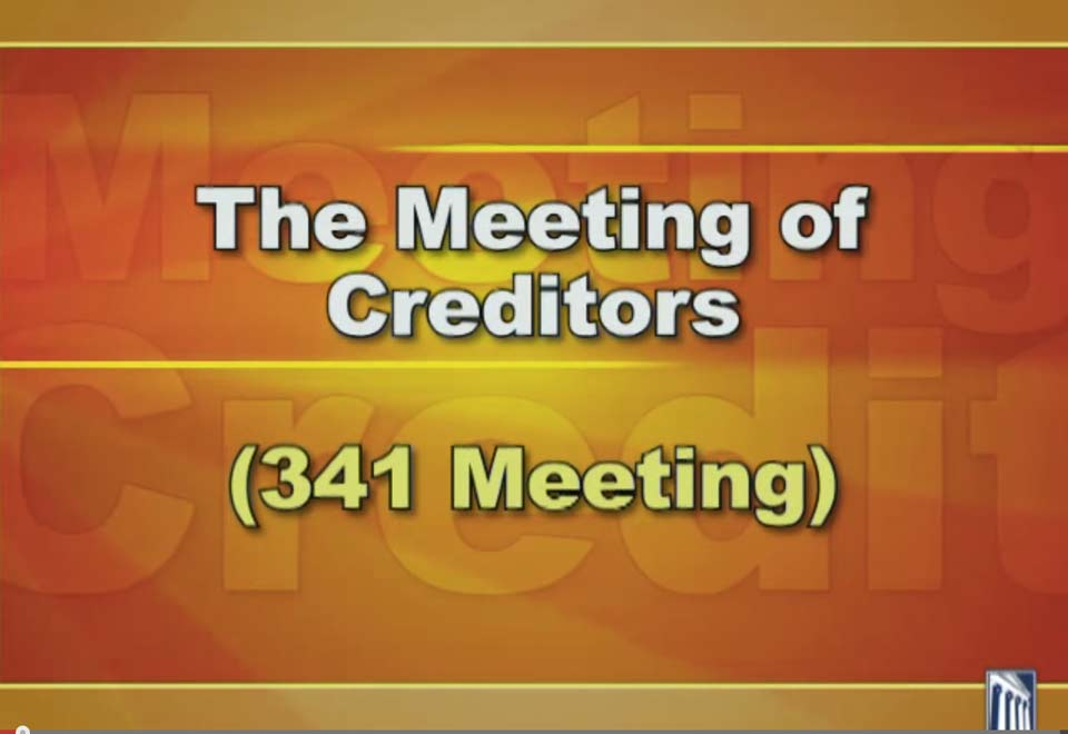 341 Creditors Meeting Video FAQ